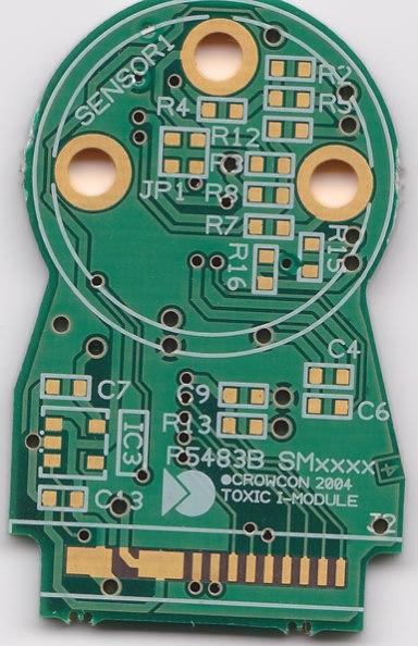 Toxic Gas Sensor PCB