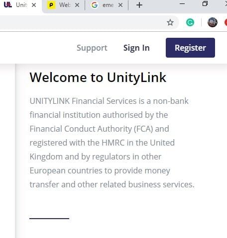 unity link