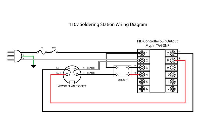 DIY 110v Temperature Controlled Soldering Station