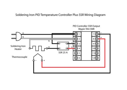 Soldering Iron Temperature Controller Version 2   PCB Smoke