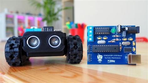5 in 1 Arduino based Robot car