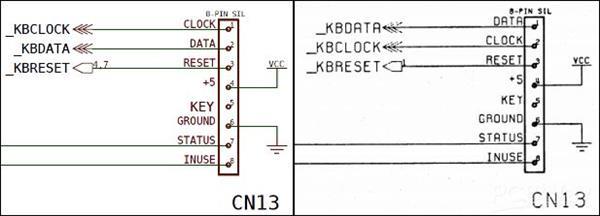 amiga 500 ps/2 keyboard adapter  share project  pcbway