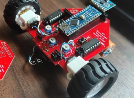 Self balancing robot, an Arduino based project