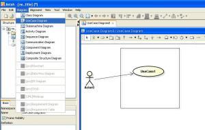 Pengetahuan Dasar UML (dasar membuat diagram class, Use