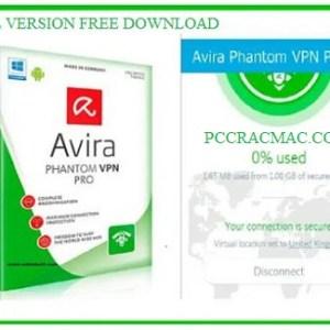 Avira Phantom VPN PRO 2021 Crack