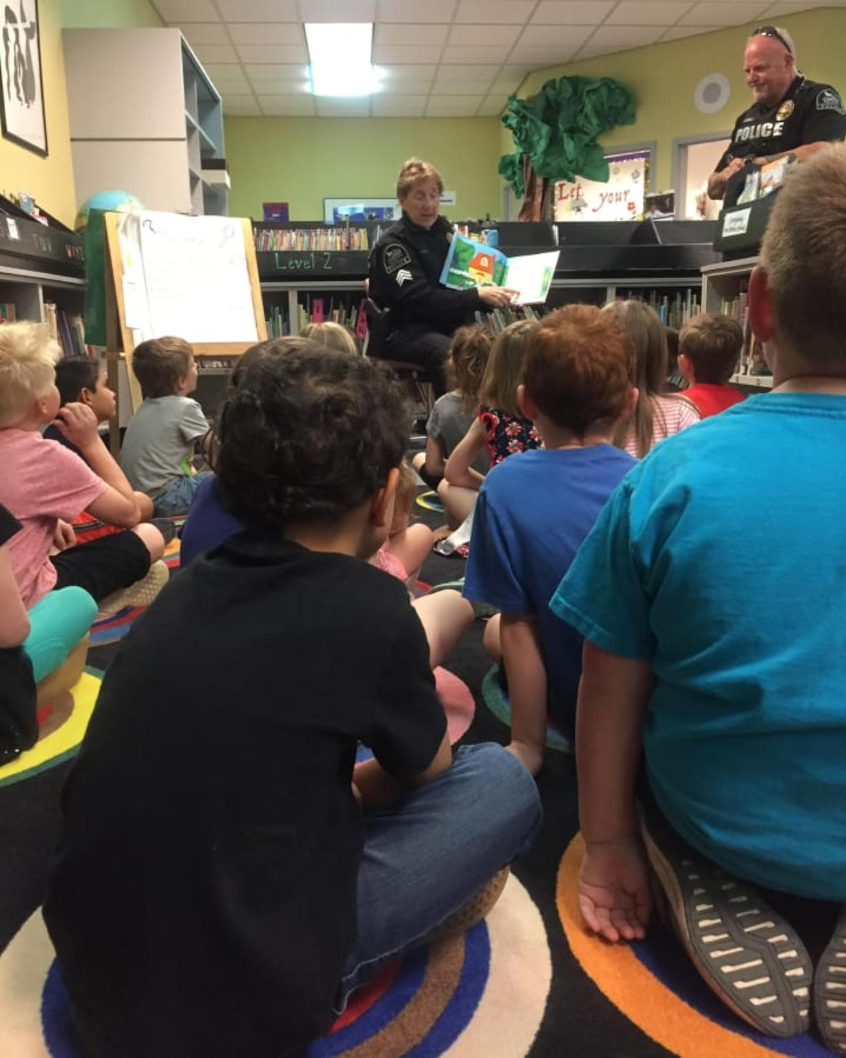 Ridgefield Students Earn Police Visits For Good Behavior