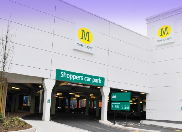 Supermarket group Morrisons needed to maximise car parking spaces