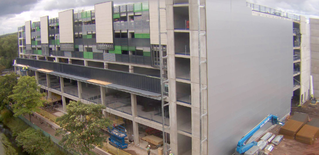 GT Floor Units enable long span car parks to be erected faster