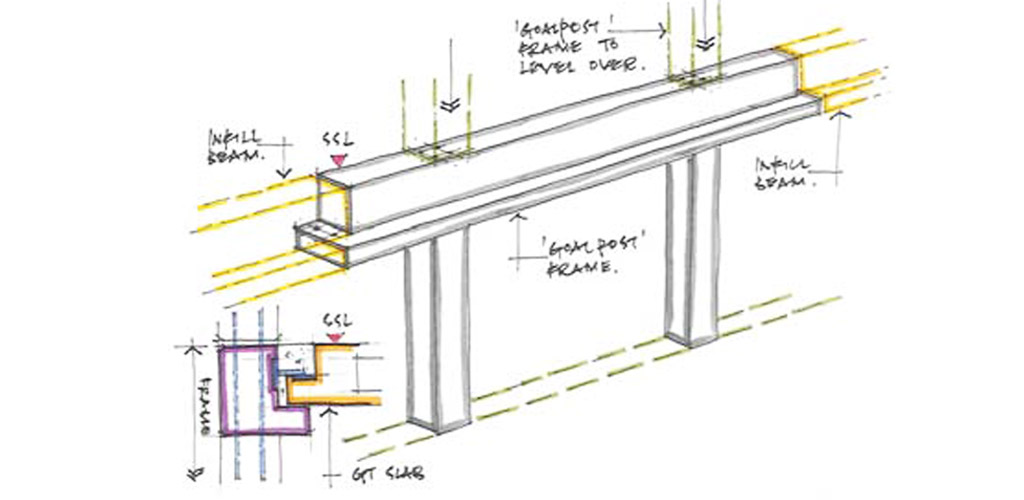 Speed and accuracy benefits of precast hybrid construction