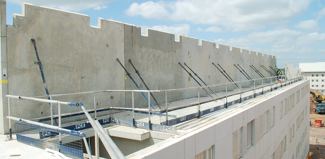 PCEs structural solution for precast crosswall construction