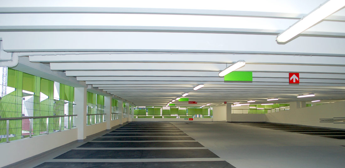 PCE high specification multi-storey car park