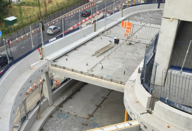 """Bracknell update 9 – precast """"making a complex structure easy"""""""