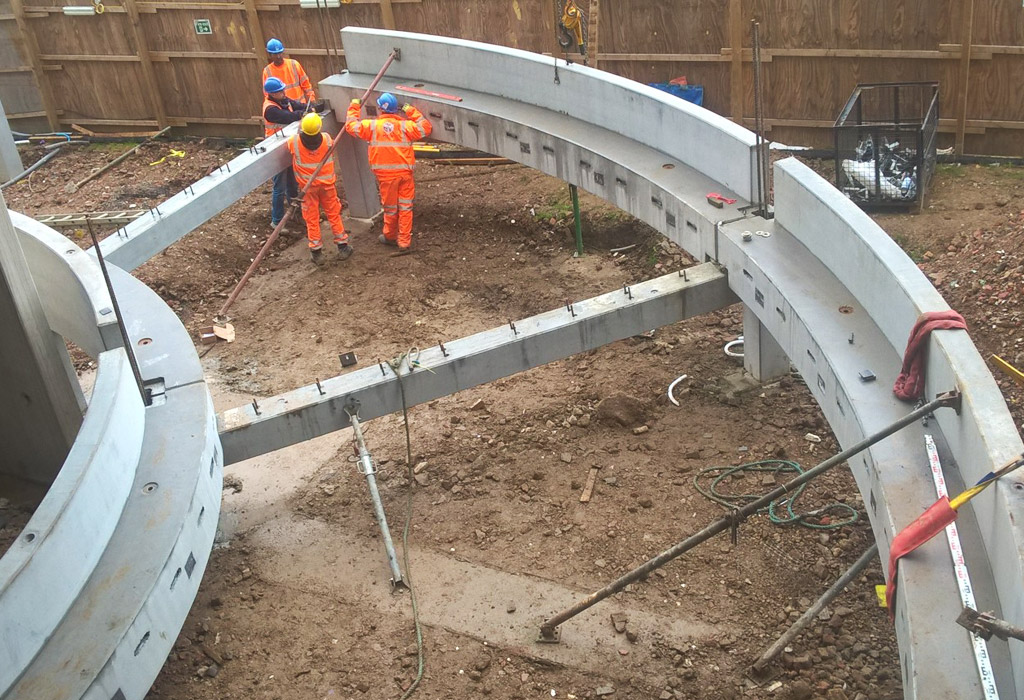 "Bracknell update 9 – precast ""making a complex structure easy"""