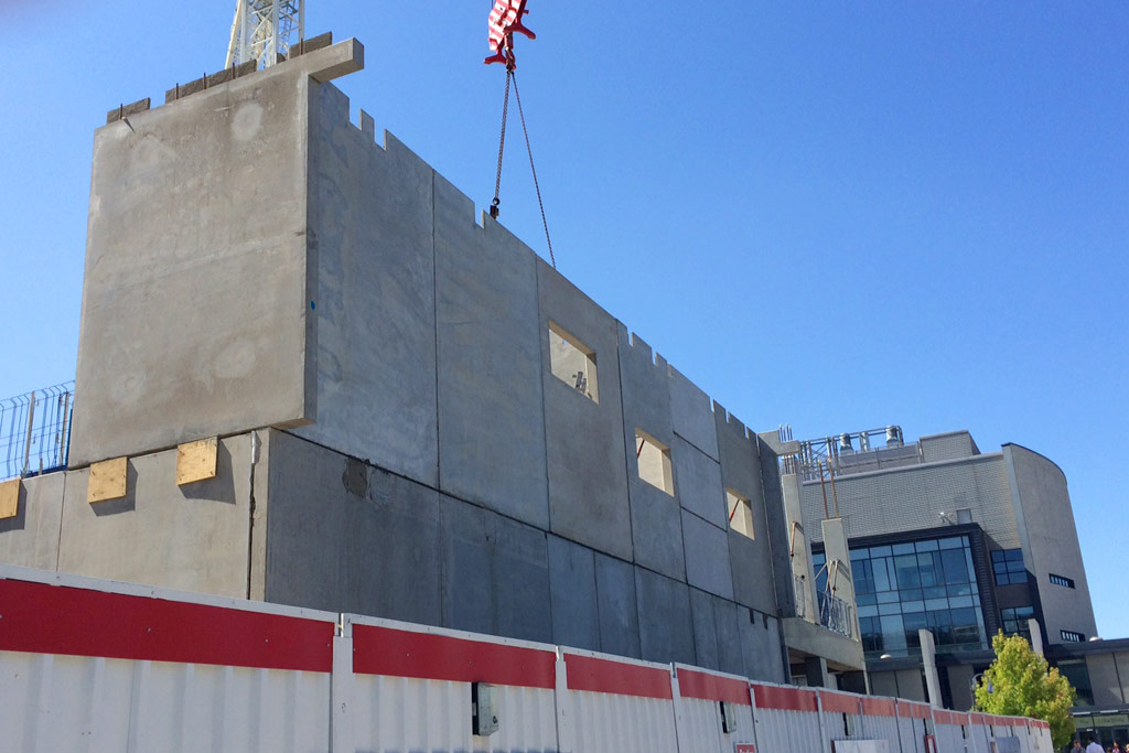 Capella update 7 – solid core walls added at north end