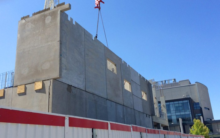 Offsite manufactured precast concrete in Cambridge