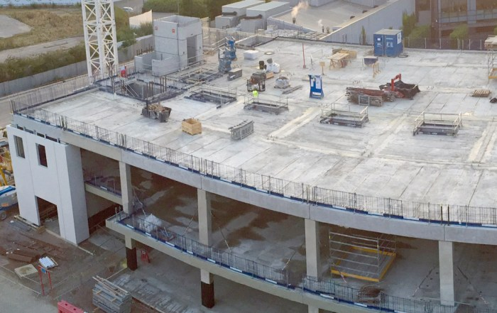 PCE Ltd precast concrete hybrid construction in Cambridge