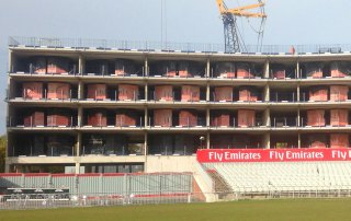 Emirates Old Trafford Hotel hybrid offsite construction