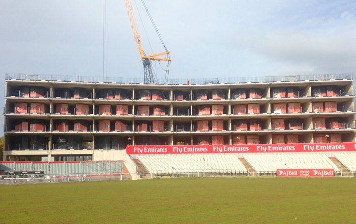 Emirates Old Trafford Hotel precast concrete construction