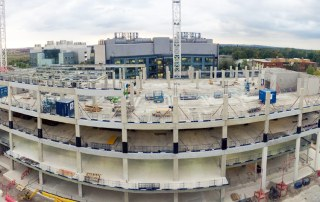 Hybrid construction techniques provide time and cost savings