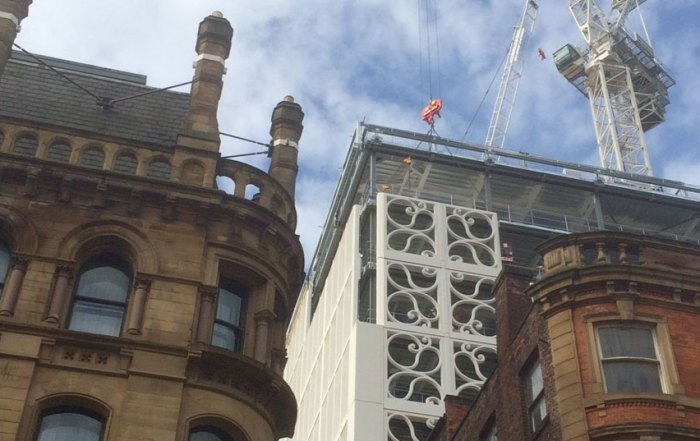 Redevelopment of St Peter's Square in Manchester