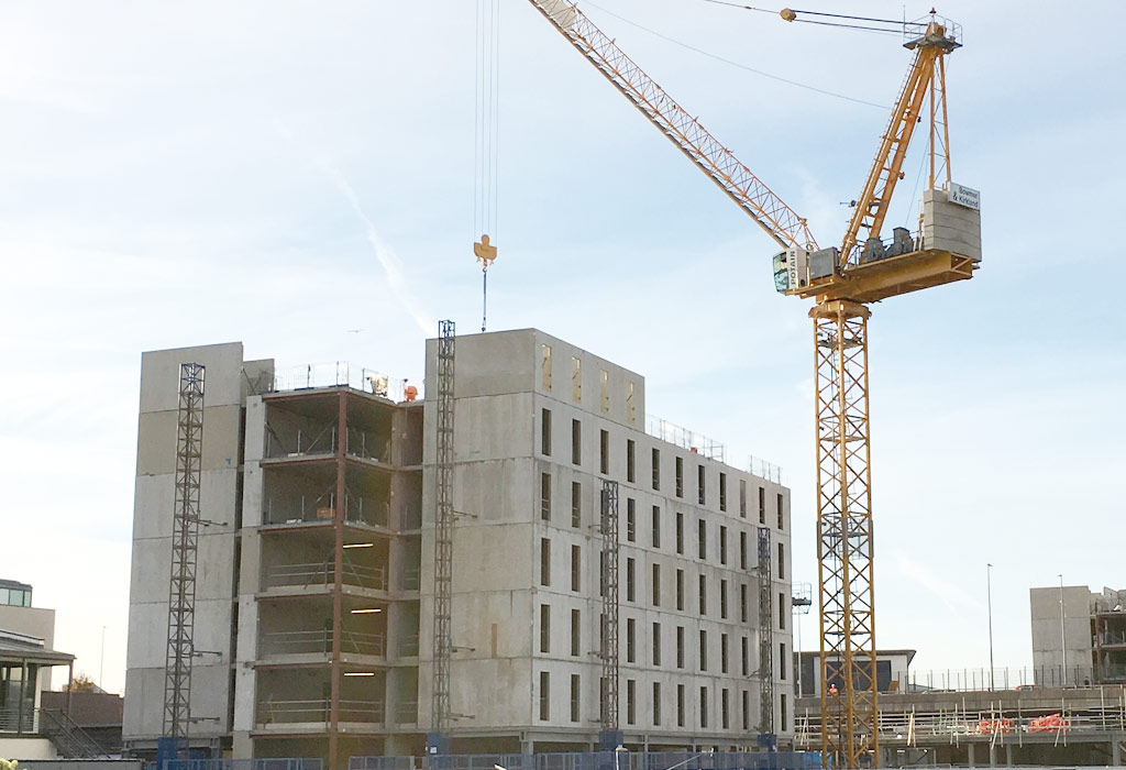 Construction contract for FP McCann