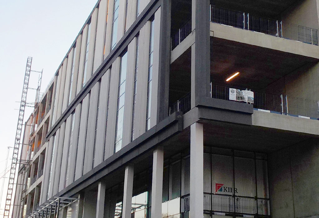 The Capella Laboratory in Cambridge is being constructed by PCE Ltd
