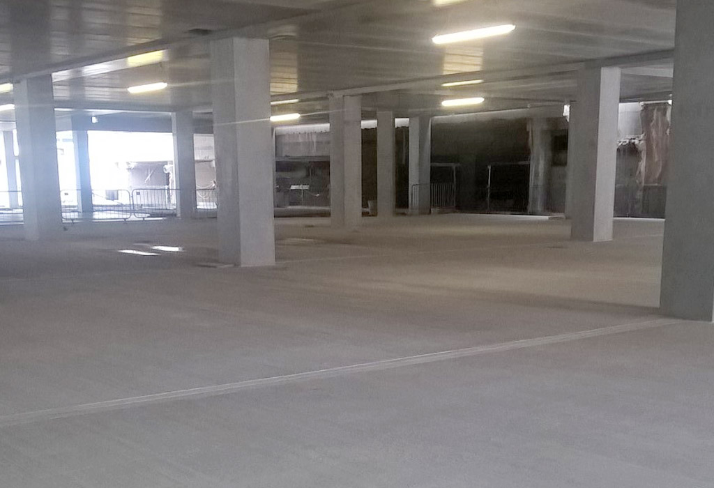 Paradise update 12 – suspended car park level takes shape