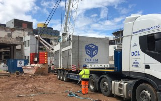 PCE PreFastCore units delivered in Birmingham