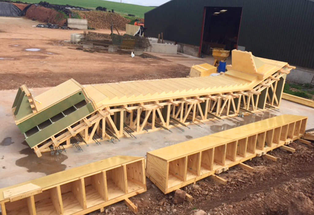 Precast concrete stairways completed for Mersey Gateway Project