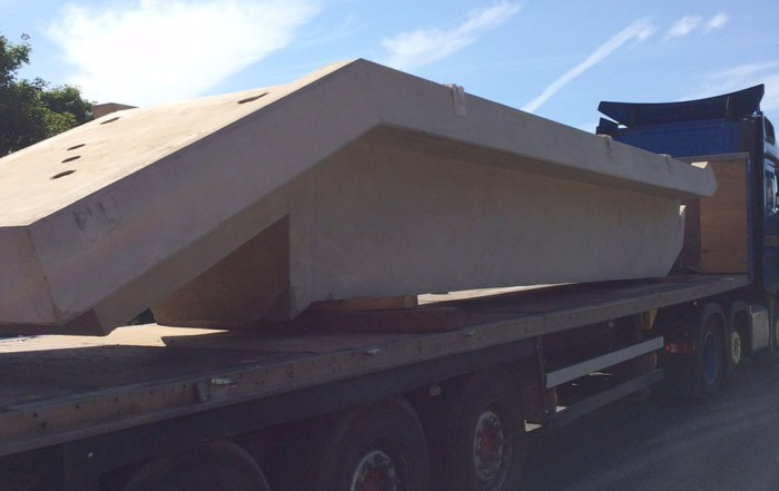 Offsite manufactured precast concrete stairway by PCE 1