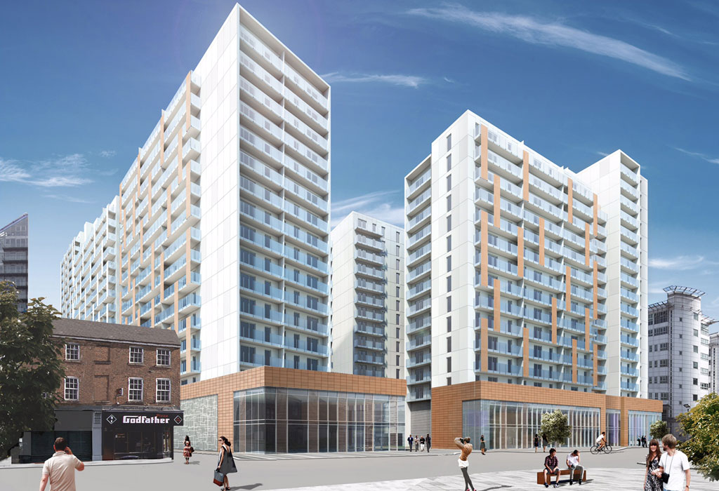 Chapel Wharf project underway in Manchester