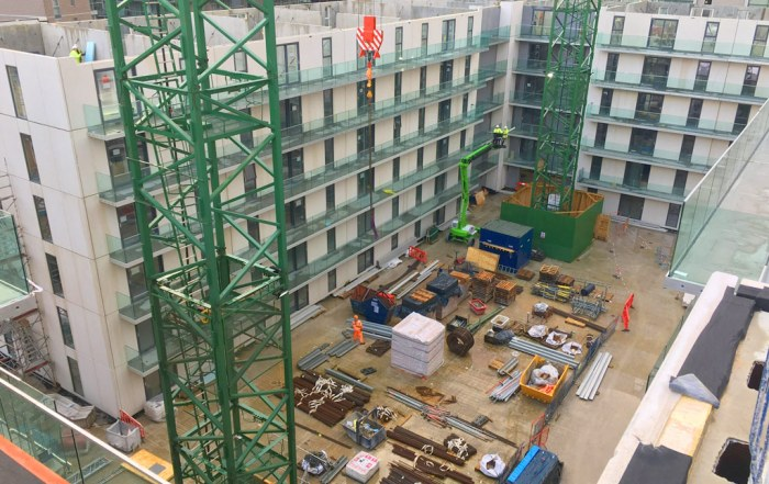 Offsite construction produces the benefit of a reduction in the schemes carbon footprint
