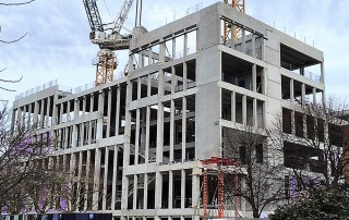 Offsite fabricated hybrid solution for the concrete frame