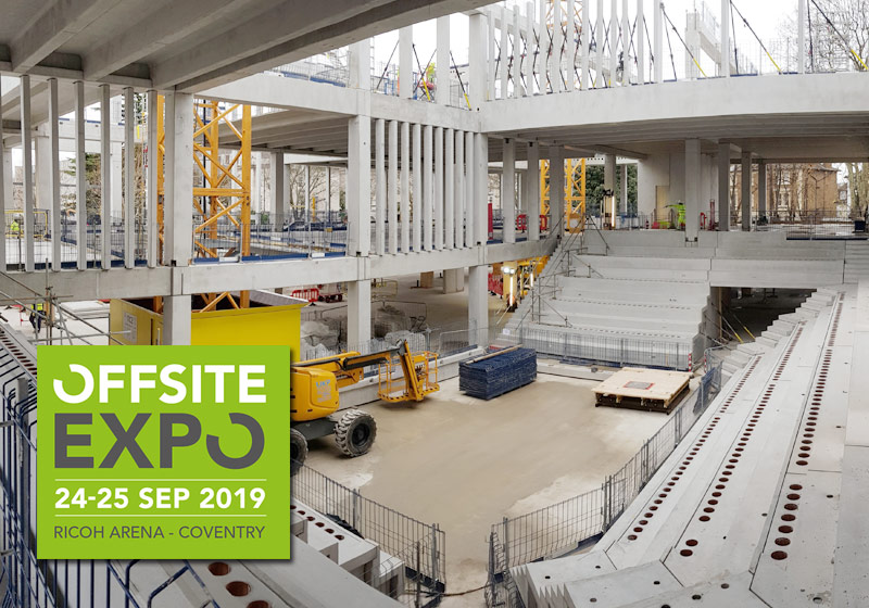 10000m2 Concrete Frame completely exposed in terms of concrete finishes and connections