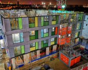 In total 3,995 offsite factory engineered units will be delivered to the East Village N06 project for PCE to assemble