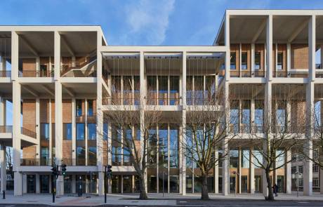 PCE's 6 storey, approximately 10,000m2 total floor area, fully HybriDfMA offsite engineered structure