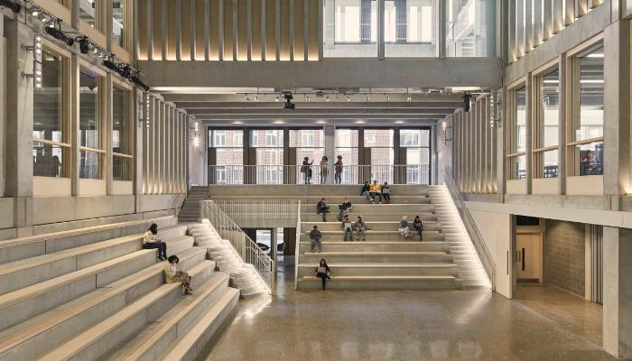 PCE Ltd was appointed as Specialist Structural Frame Contractor for Kingston University