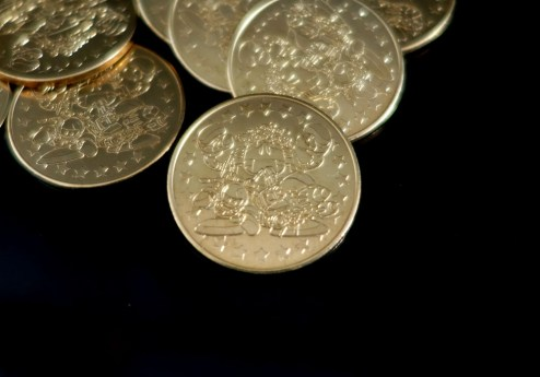 Star Parodier Limited Edition Coins (2)