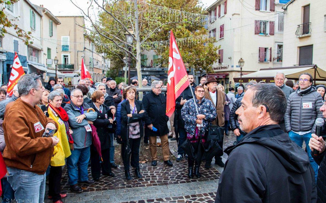 Rassemblement pour le pouvoir d'achat – 17 novembre Martigues