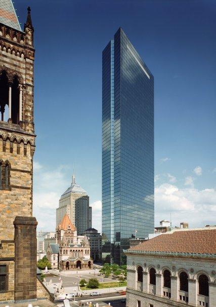 「John Hancock Tower」の画像検索結果