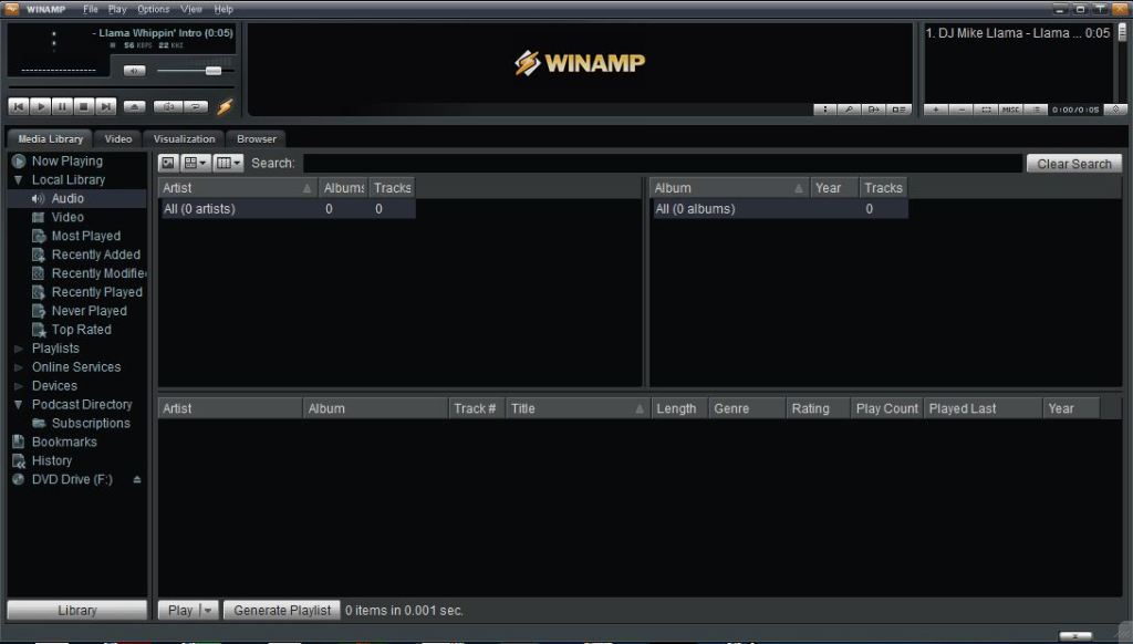 Download Winamp Player 5.666 Free