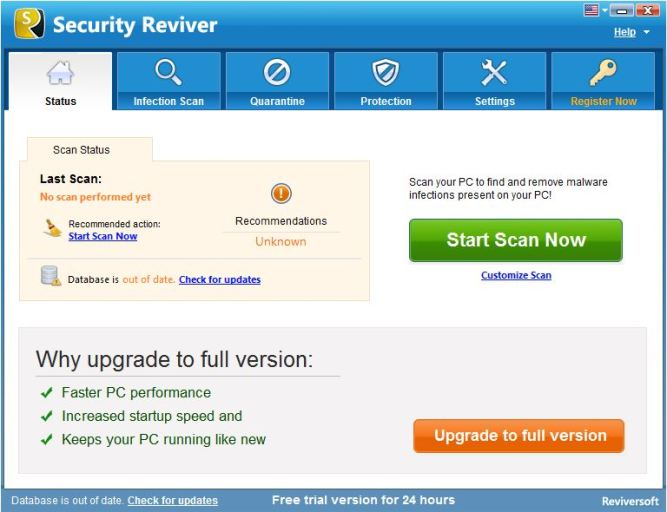 ReviverSoft Security Reviver Free