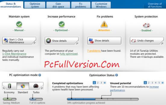 Download TuneUp Utilities with Free Serial Key