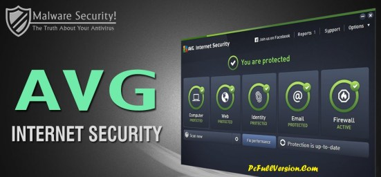 AVG Internet Security 2017 Crack 100% Working Serial Key