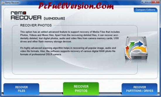 Remo Recover 4.0 Keygen Crack