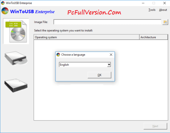 WinToUSB Enterprise 3.6 Crack + Serial Key Full Free Download