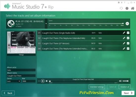 Ashampoo Music Studio 7 License Key