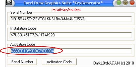 CorelDraw x8 Activation Code & Serial Number