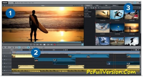Magix Movie Edit Pro 2017 Premium Crack + Serial Key Full