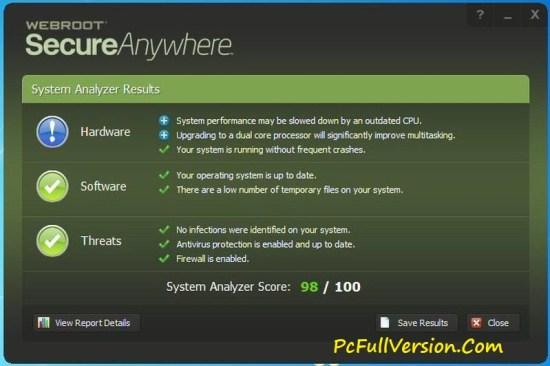 Webroot SecureAnywhere Antivirus Key 2017